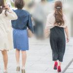 パーティードレスって、なんだかいい!着飾ったお嬢さん3人組!