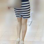 S級のOLさん!稀に見る極上美脚のタイトスカートがエロ過ぎる!