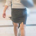 パンティラインはなくても、イイ女がタイトスカートを履くとこんなにエロい!