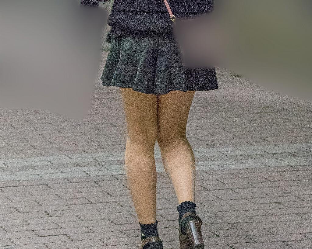 冬に嬉しい!ナチュスト美脚のキュロットスカートガール!