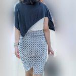 豊満美尻曲線!がエロ過ぎるピタピタタイトスカートのお姉さん!